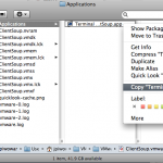 Copy existing application