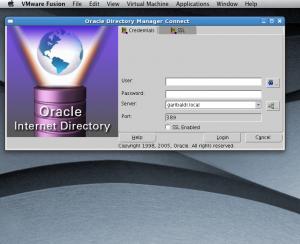 oidadmin on a Mac desktop.  Neato!