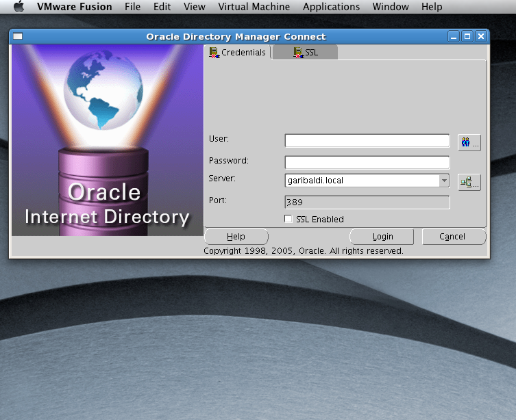 Only Four Left… » Running oidadmin on Mac OS X